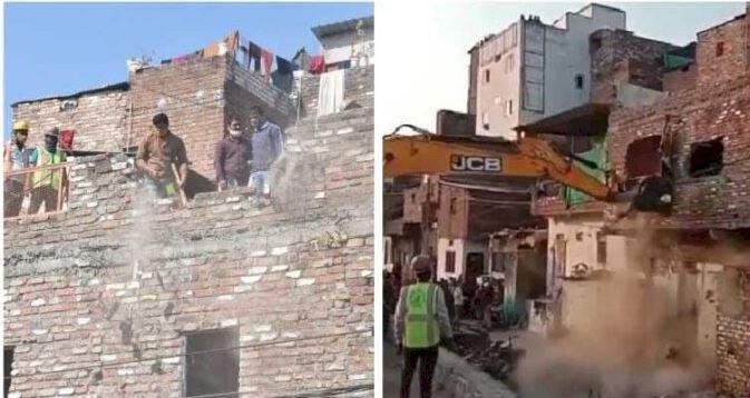 पत्थरबाजों पर एक्शनः उज्जैन का बेगमबाग इलाका छावनी में तब्दील, अतिक्रमण पर चल रहा बुलडोजर